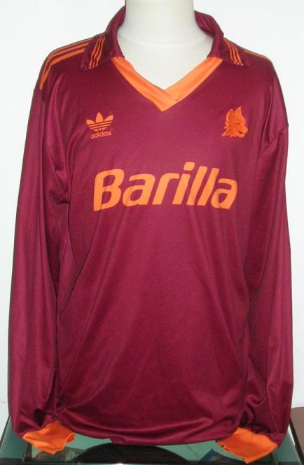 Giuseppe giannini indossata in roma - lazio 0 - 0 18 - 4 - 1993